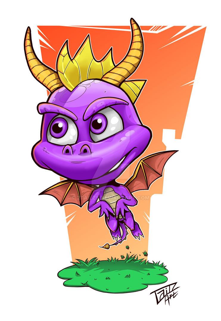 Spyro by 2TailZ9