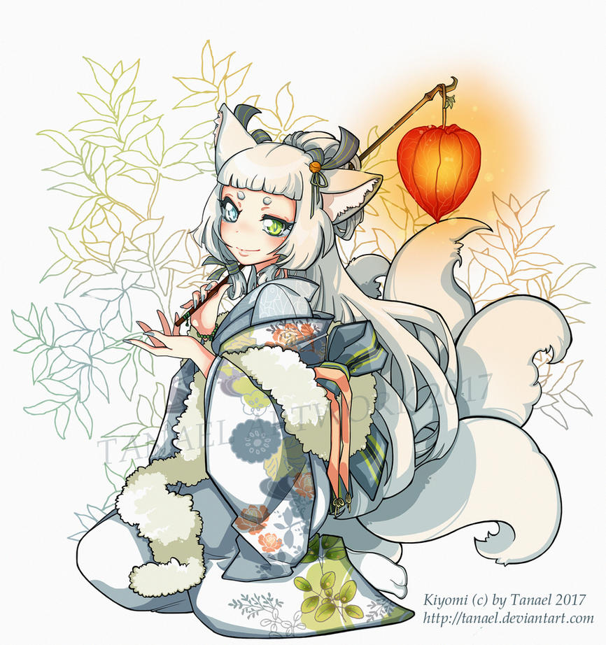 Kiyomi by Tanael