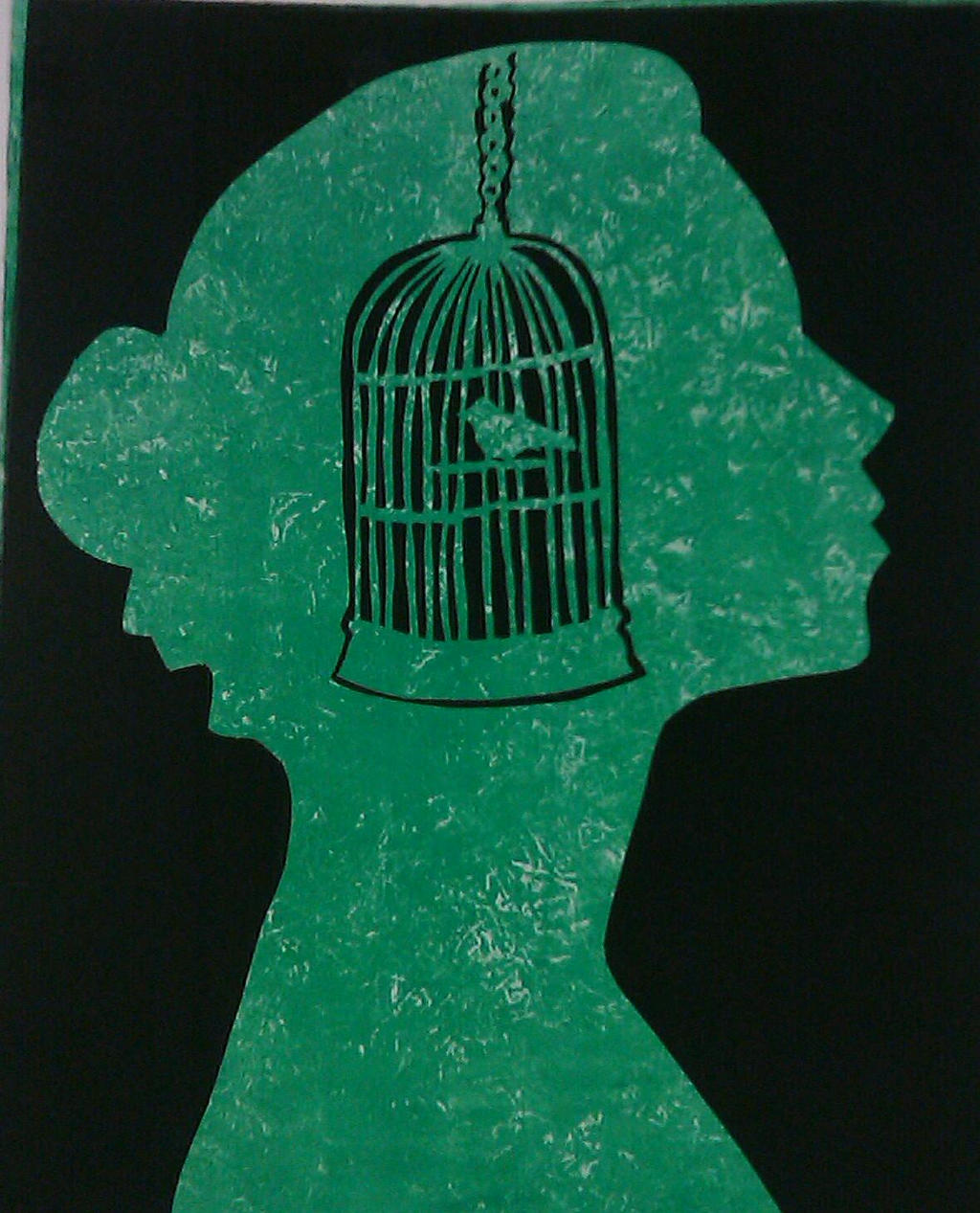 The metaphors and imagery of freedom in i know why the caged bird sings a book by maya angelou