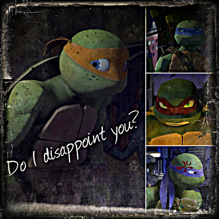 TMNT:: Mikey: Do I disappoint you? by Culinary-Alchemist ...