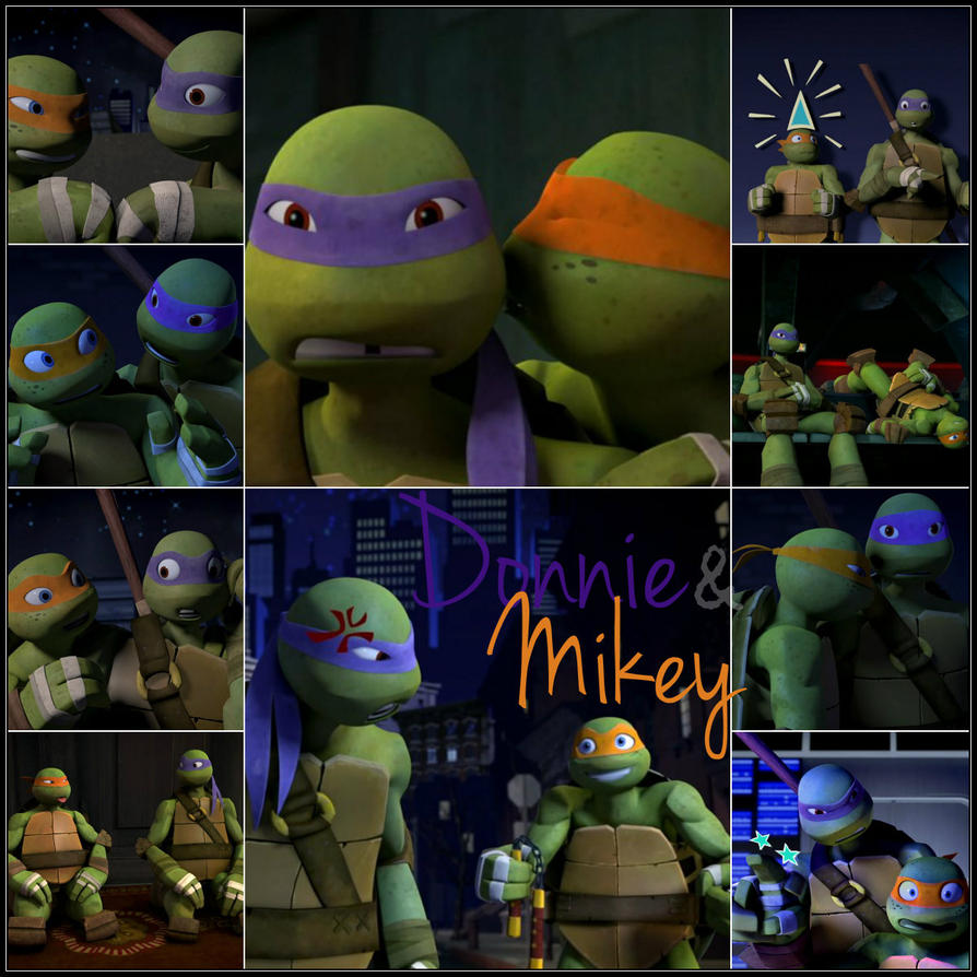 TMNT:: Donnie and Mikey by Culinary-Alchemist on DeviantArt