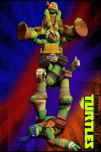 TMNT IPhone Ipod Touch Wallpaper All By Culinary Alchemist