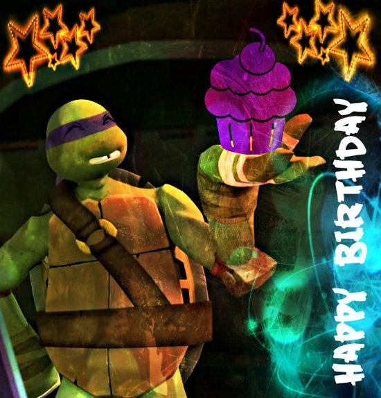 TMNT Birthday Donnie kyouhuynh by CulinaryAlchemist on DeviantArt