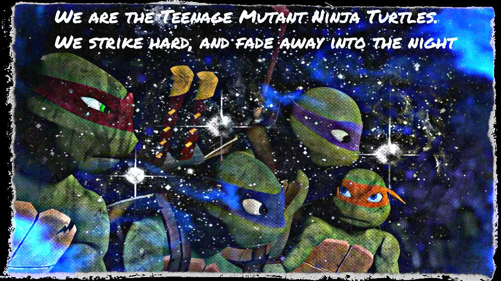 Tmnt Ninja Turtles Strike Hard By Culinary Alchemist On Deviantart