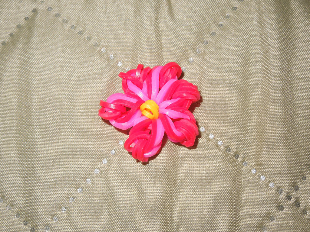 loom charm flower by culinary alchemist on deviantart