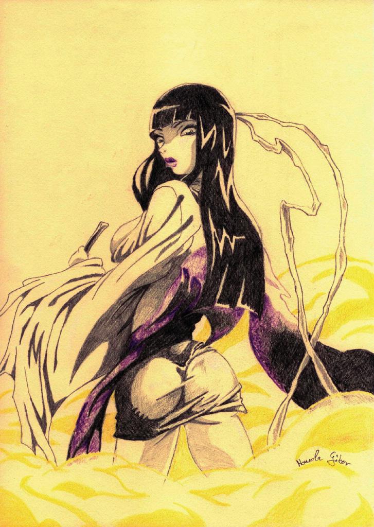 Lady Sio by HomolaGabor