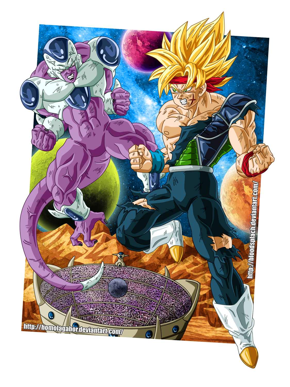 DBM - KingCold vs BardockSSJ by HomolaGabor
