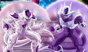 DragonBall Multiverse Freeza and Cooler in form5