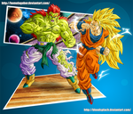 GokuSSJ3 vs Bojack form2