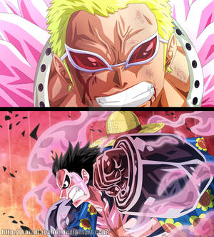 One Piece Ch 784 - Luffy vs Doflamingo