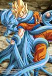 Goku vs Maji Kayu