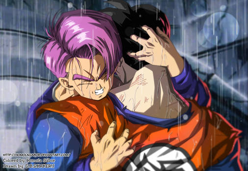 DBZ History of Trunks - Trunks finds Gohan dead