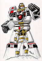 White Ranger - White Tigerzord by El-Eliah