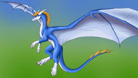 Dragonbend Winter-Bluefur by Katrla