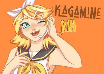 Kagamine Rin by SeiranKaita