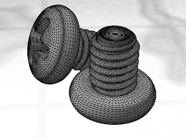 Screw 2 - Wireframe by playmobil