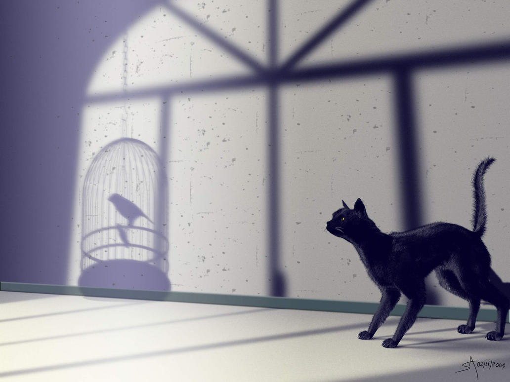 Cat Watching by playmobil