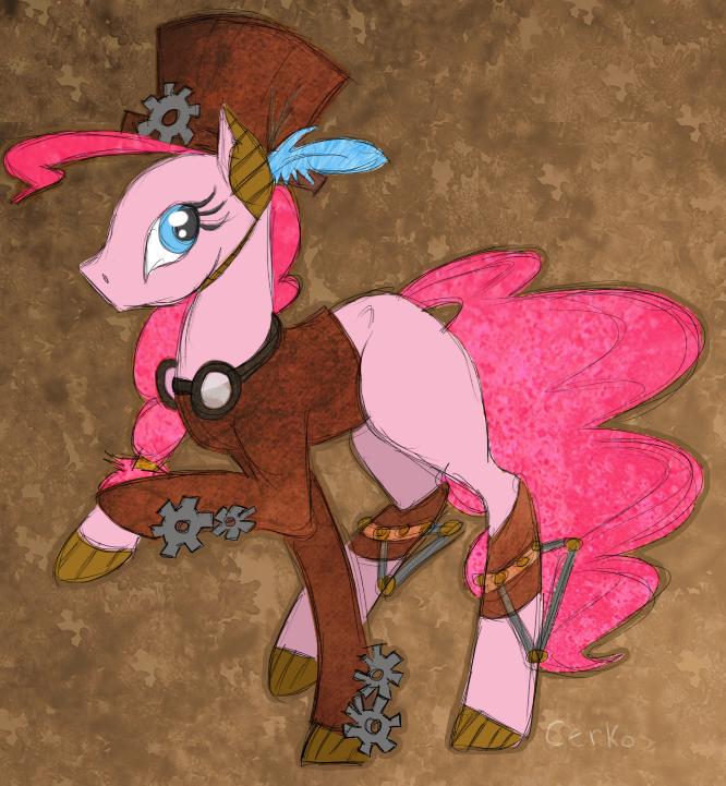 Steampunk Pinkie by Cerko