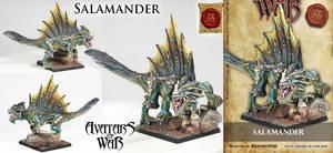 Salamander now cast