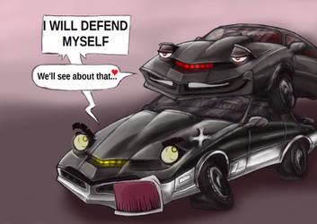 Kitt Karr Knight Rider favourites by Dead-Jilly on DeviantArt