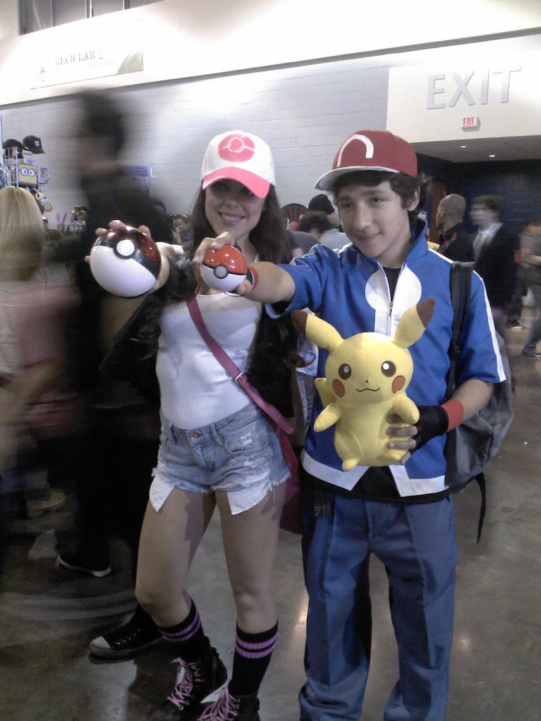 pokemon black and white trainers cosplay by anary108 on