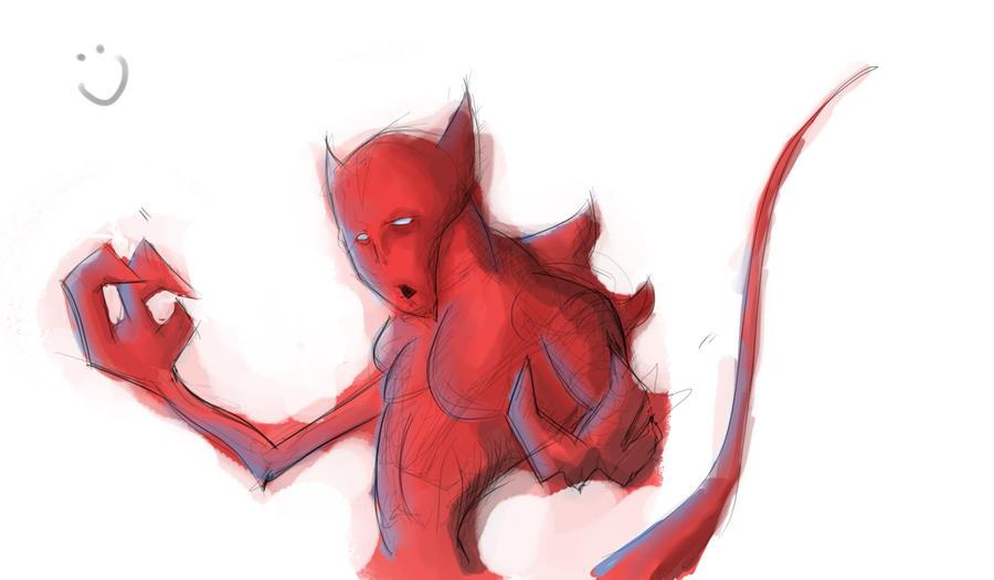 Red guy by sudafreekan