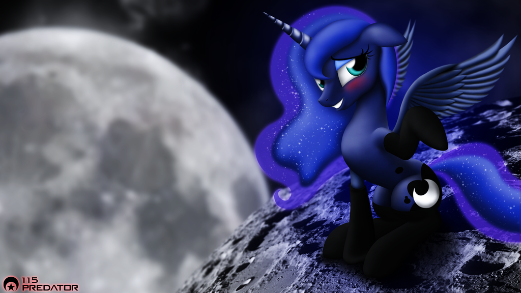 2013 - Princess Luna - Hearts and Hooves Day by TsaritsaLuna