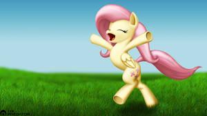 Fluttershy Running