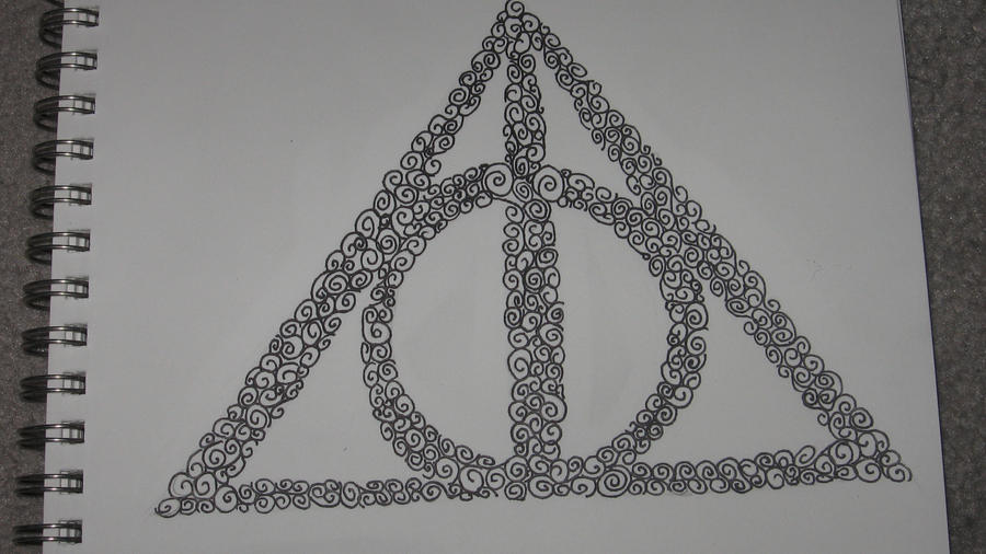 The Deathly Hallows By Muggleotter On Deviantart