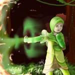 Aya Green Protector by artdeeb96