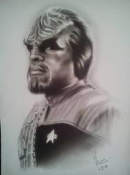 Worf! by Honeyzdewz