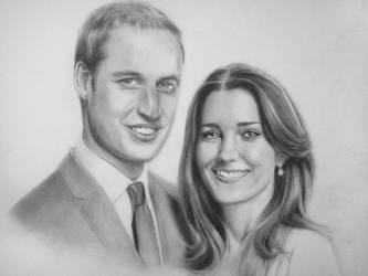 William and Kate by Honeyzdewz