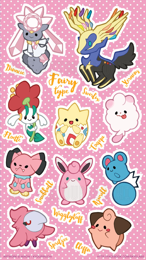 Fairy Type Pokemon Images | Pokemon Images