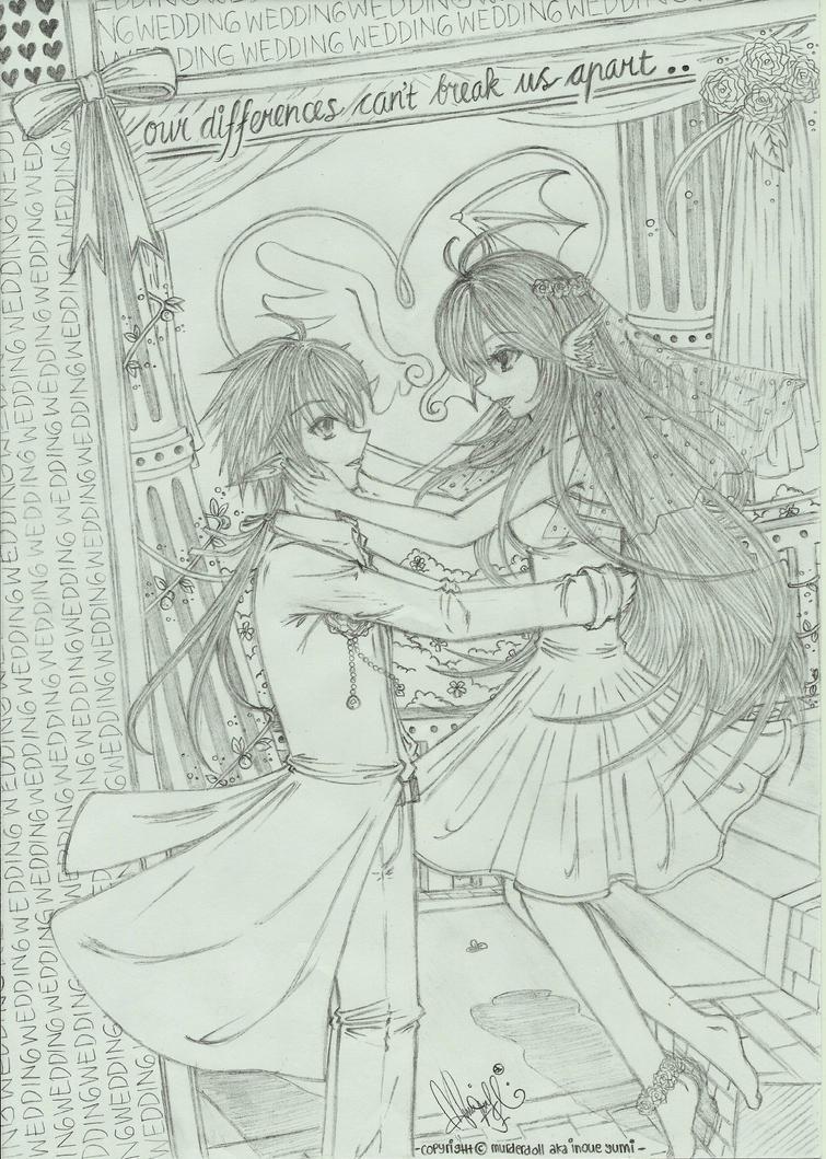 Wedding 01 by murderdoll-inoueyumi
