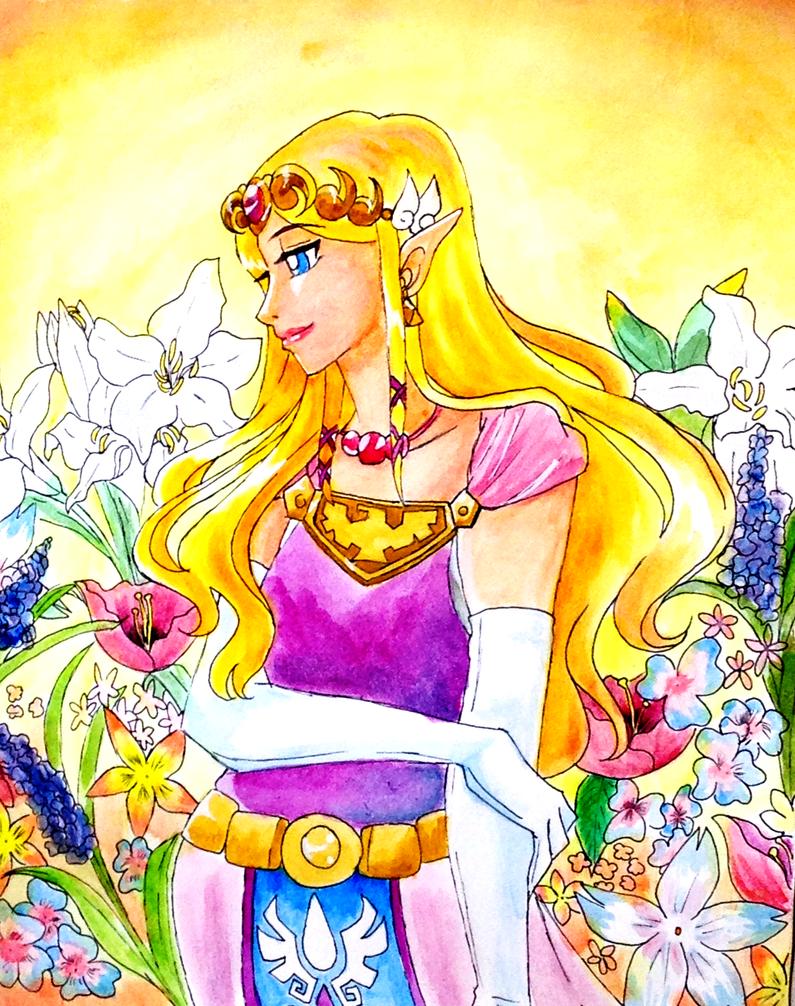 Princess Zelda by tabaotsi