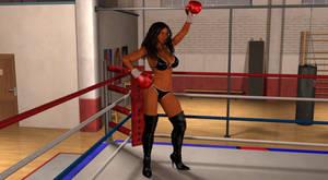 Boxer Profile: Jessica Hawke by IzunaOtoshi
