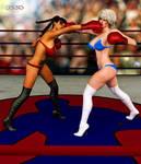 Xiu Ying Hong vs Valerie Prescott,by GunnerSteve3d