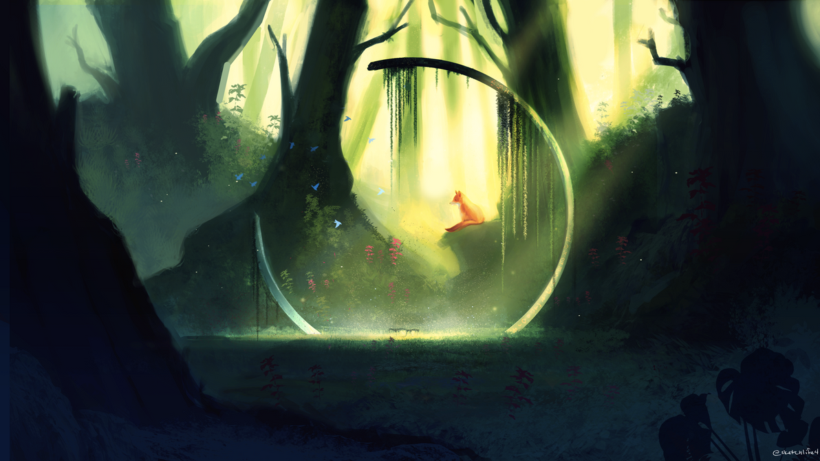 Forest Environment by whaate
