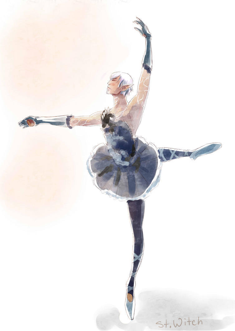 Fenris sweet ballet dancer by SENTWITCH067