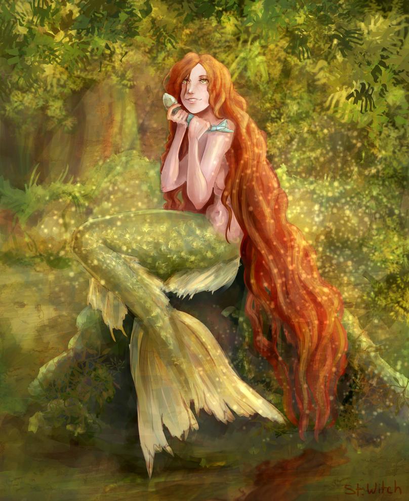 Bog's mermaid by SENTWITCH067