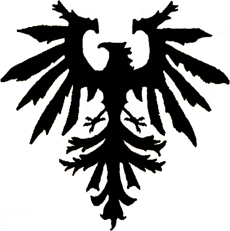 + Prussian Eagle + - chest tattoo