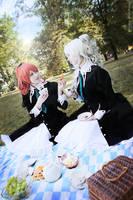 Nagisa and Shizuma by YuuGray