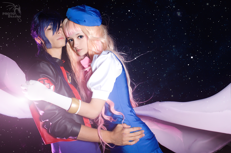 Sheryl Nome and Alto Saotome 3 by YuuGray