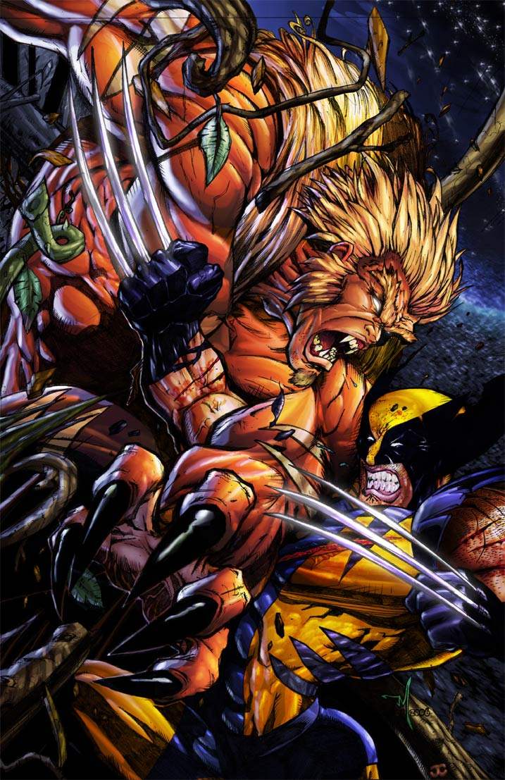 wolverine sabre tooth relationship