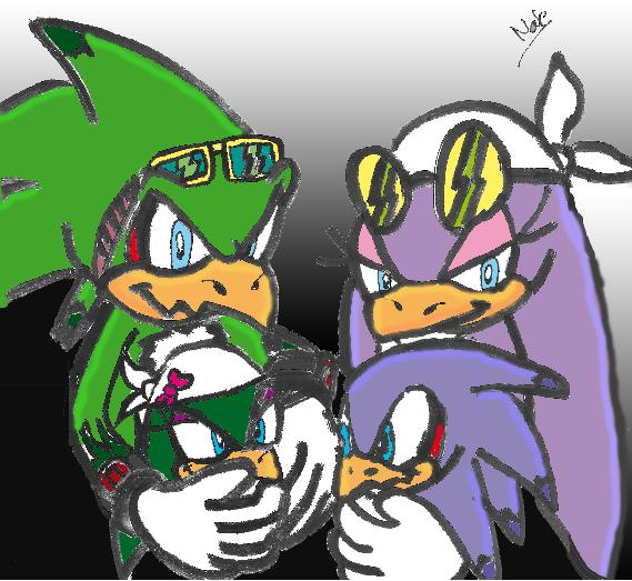 Jet And Wave Family NatchaotixJet And Wave