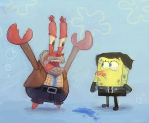 Detroit: Become Spongebob by Roshimii