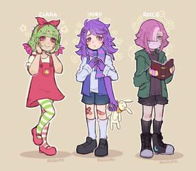 Plant Kiddies by Roshimii