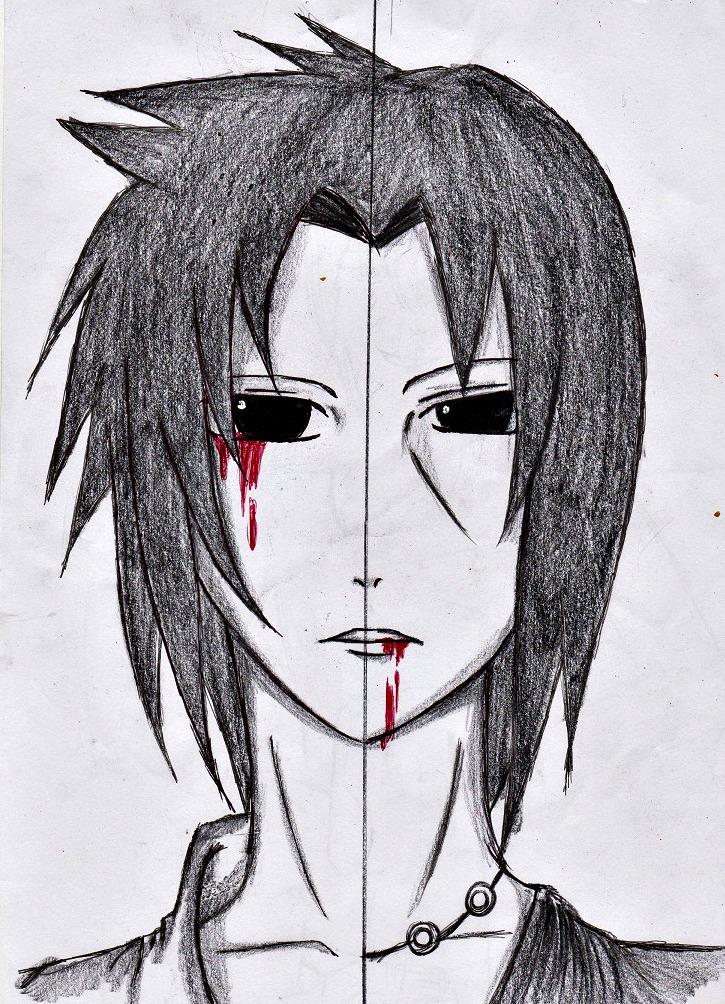 uchiha curse by akakitsune00