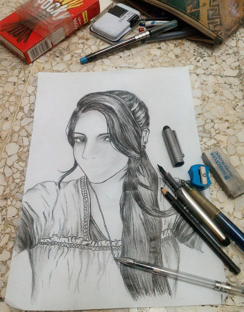 sister portrait by akakitsune00