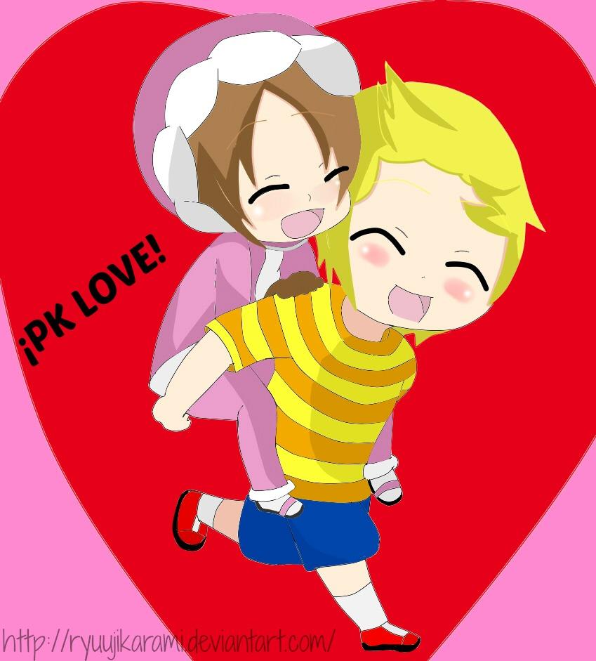 PK Love_Lucas and Nana by RyuujiKarami
